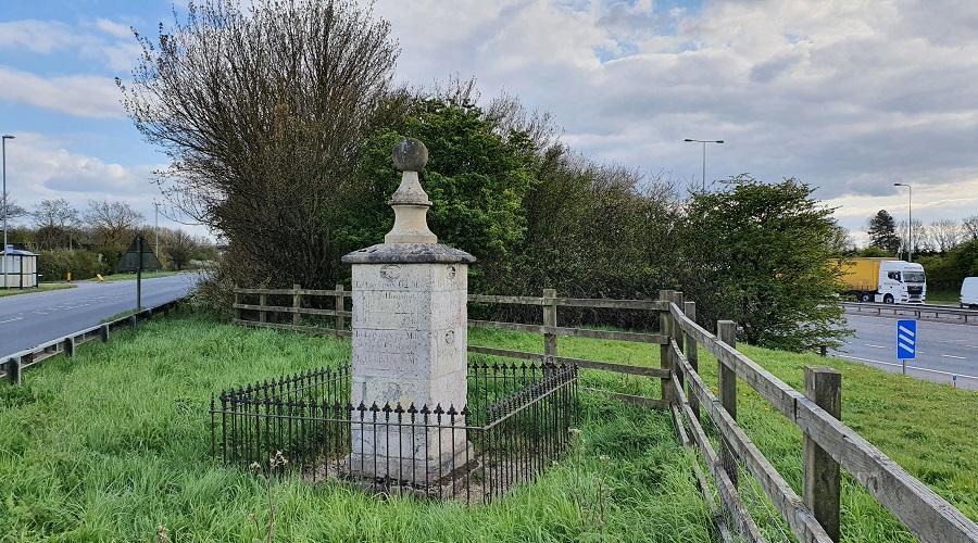 Alconbury Junction - Signpost - 2021