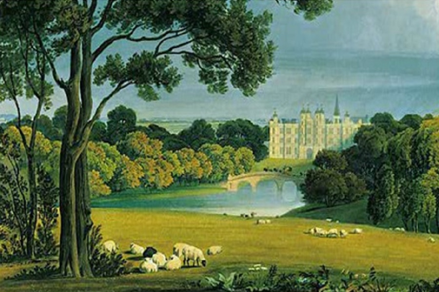 stamford - burghley house