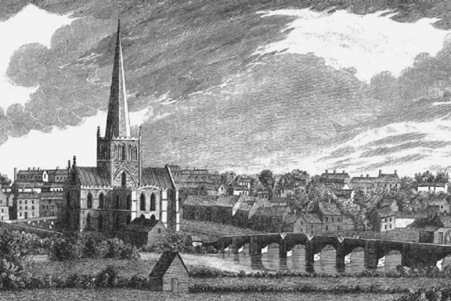 darlington - skerne bridge - st cuthberts