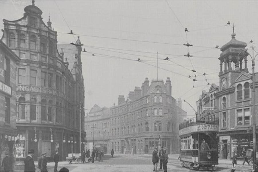 doncaster - great north road - 1905