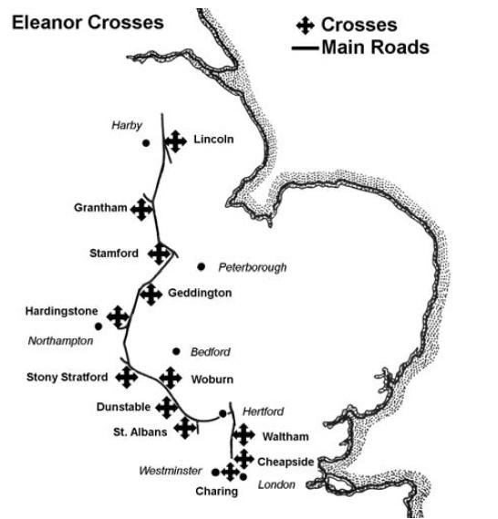 eleanor cross route