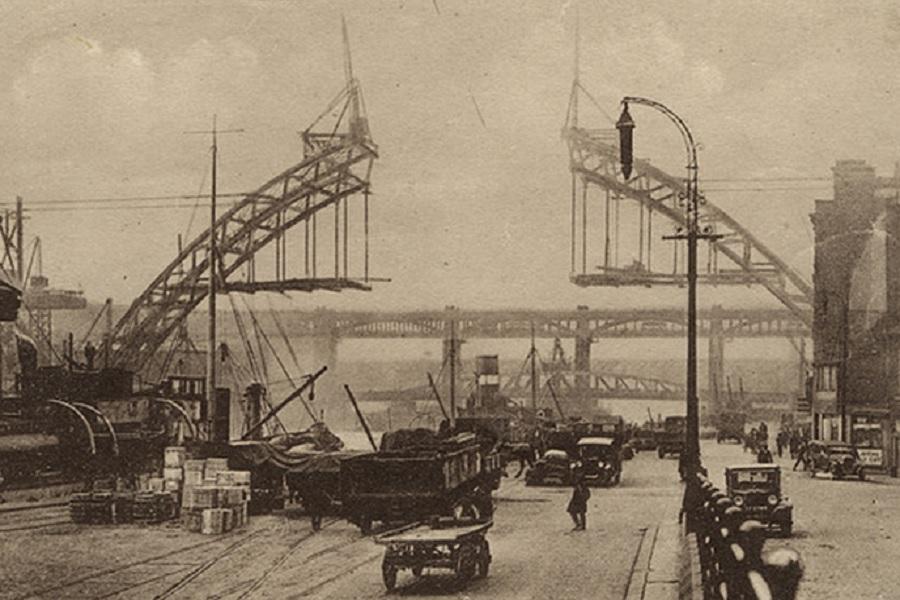 newcastle tyne bridge 1928