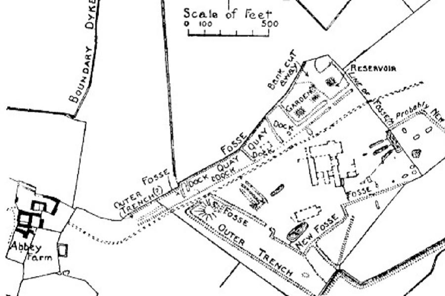 sawtry-abbey-plan