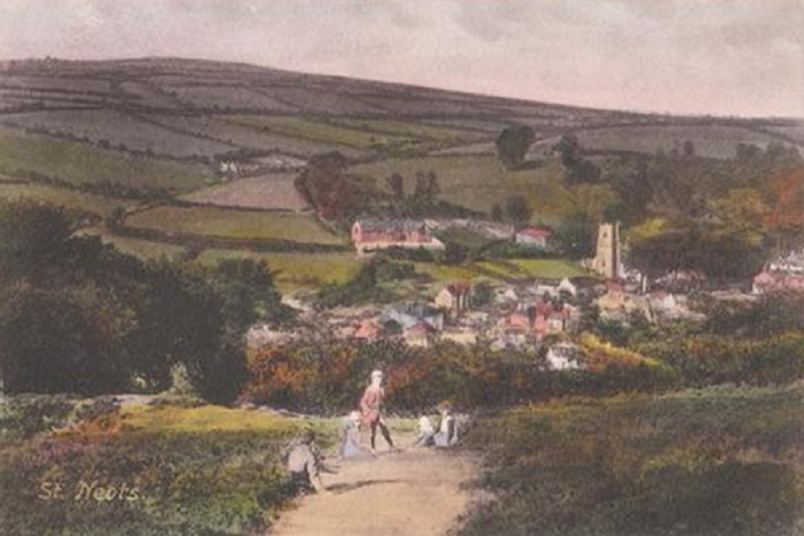 St Neots - 1908 painting