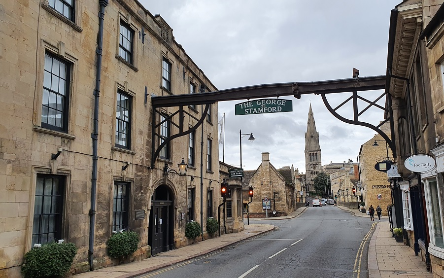 Stamford - not much changed in 70 years!