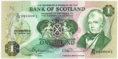 Bank of Scotland - Note