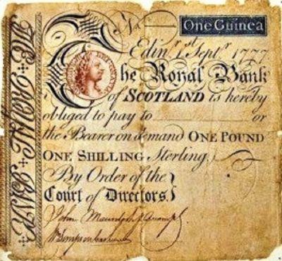 Edinburgh Banks - Note