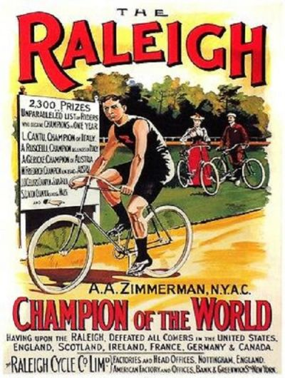 Raleigh Poster - Zimmerman