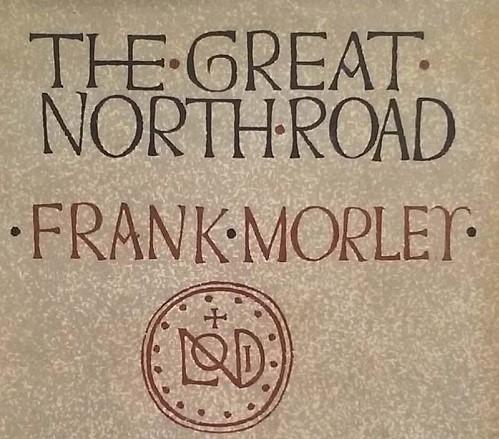 Frank Morley - Great North Road - Book