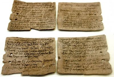 Hadrians Wall - Vindolanda Tablets