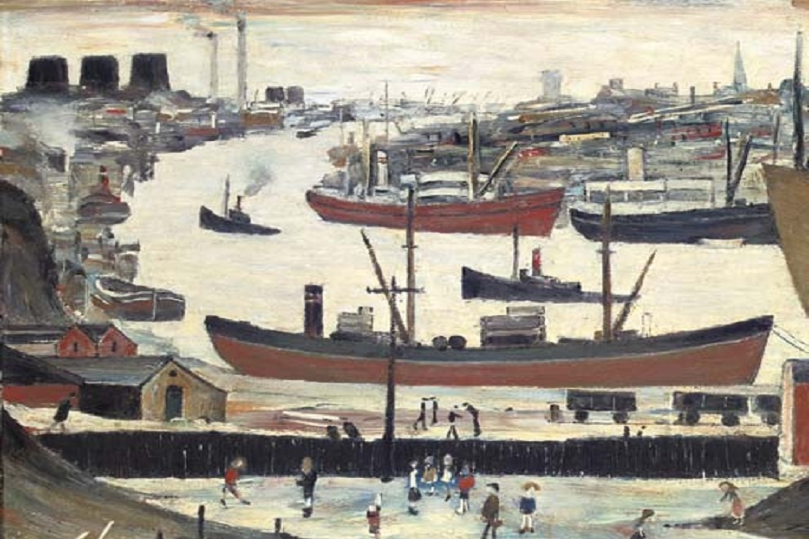 River Wear Sunderland - Lowry