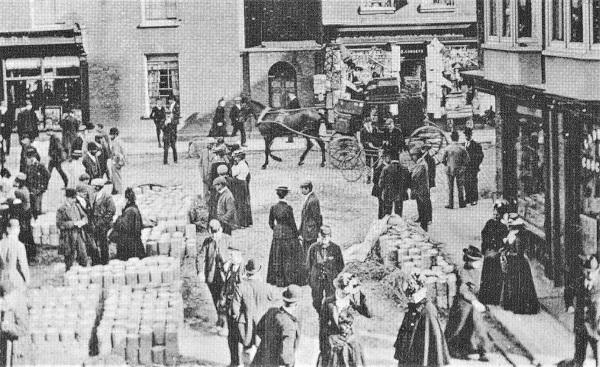 Melton Mowbray Cheese Fair c1890