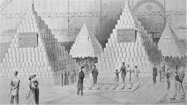 Stilton Display - Islington Dairy Show 1877