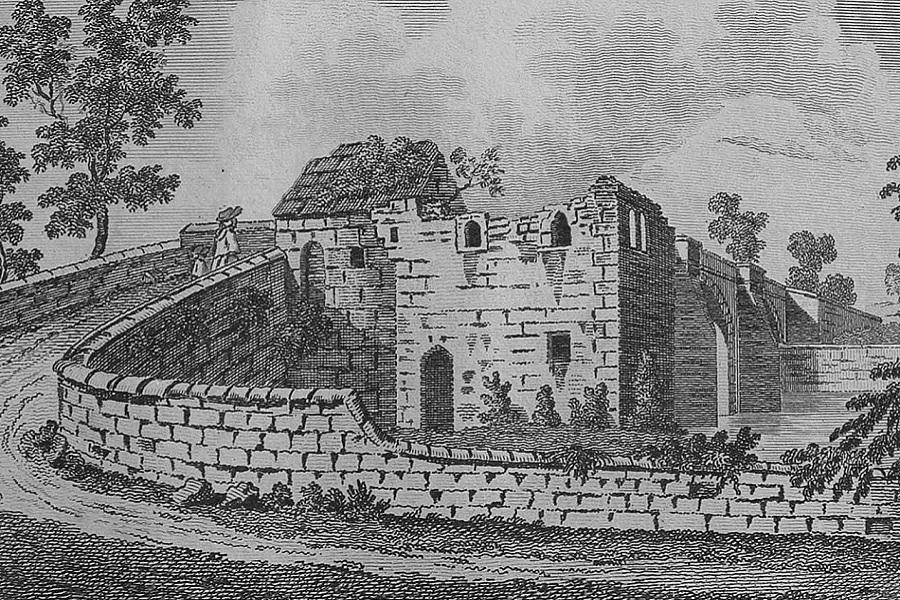Catterick Bridge and Chapel - 1787