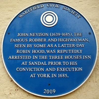 nevison- blue plaque - wakefield