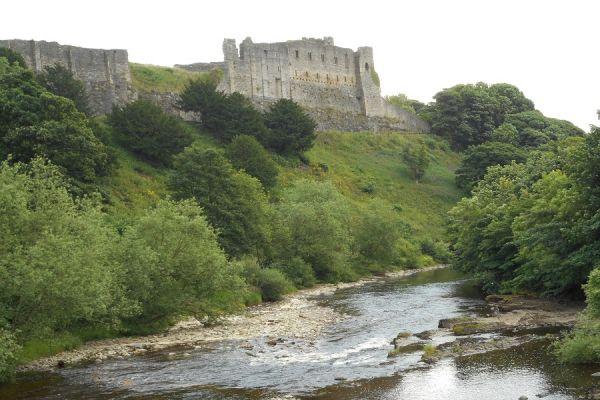 River Swale below Richmond Castle
