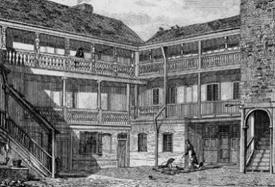 london coaching inns - angel - 1818