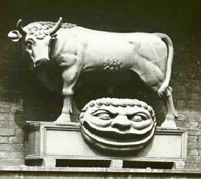 Bull and Mouth - Sculpture