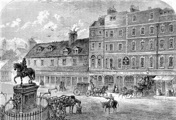 London Coaching Inns - Golden Cross