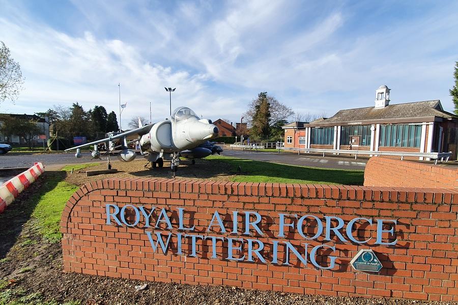 RAF Wittering - Harrier Jump Jet