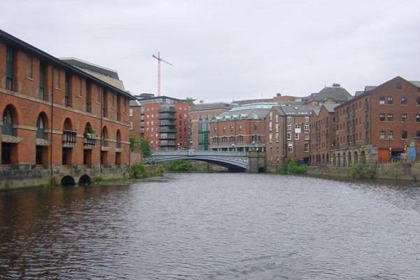River Aire - Leeds Bridge