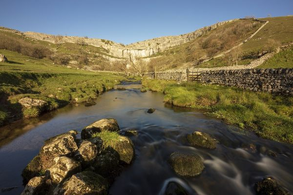Malham Cove and River Aire
