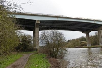 River Don - 1961 A1 Bridge