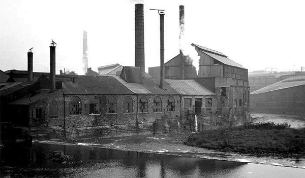 River Don and Crescent Steel Works 1957