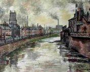 River Don - Sheffield - Frank North c1960
