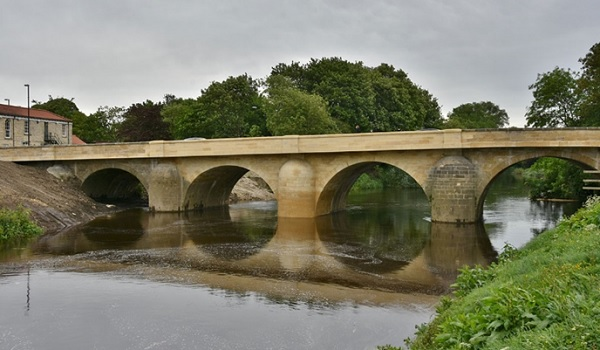 Tadcaster Wharfe Bridge Repaired