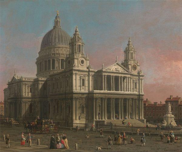 Saint Paul's - Canaletto - 1754