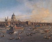 Saint Paul's - Canaletto - Lord Mayor's Day 1746
