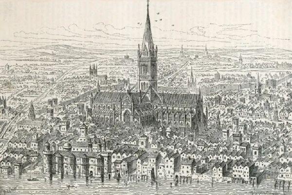 Old St Paul's - 1540
