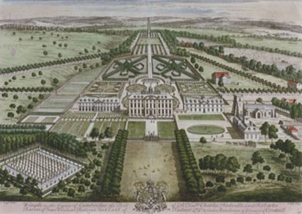 Edmund Boulter - Wimpole Hall in 1707
